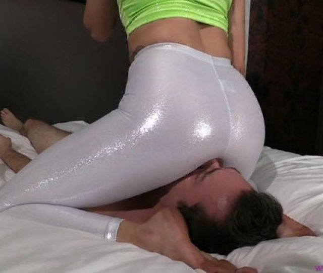 Mia Smothers A Slave To Sleep In Shiny Leggings