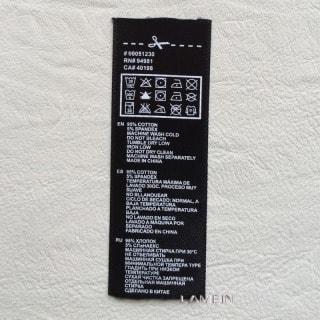 オリジナル 襟ネーム 洗濯ネーム 生産 50枚より1枚 20円