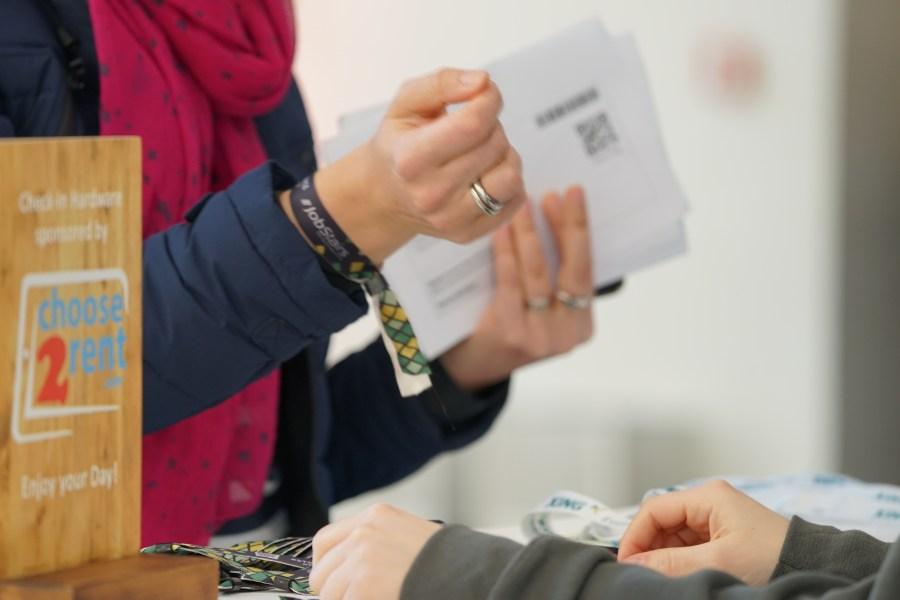 Reibungsloser Check-In auf der #SMWHH 2019 mit Choose 2 Rent