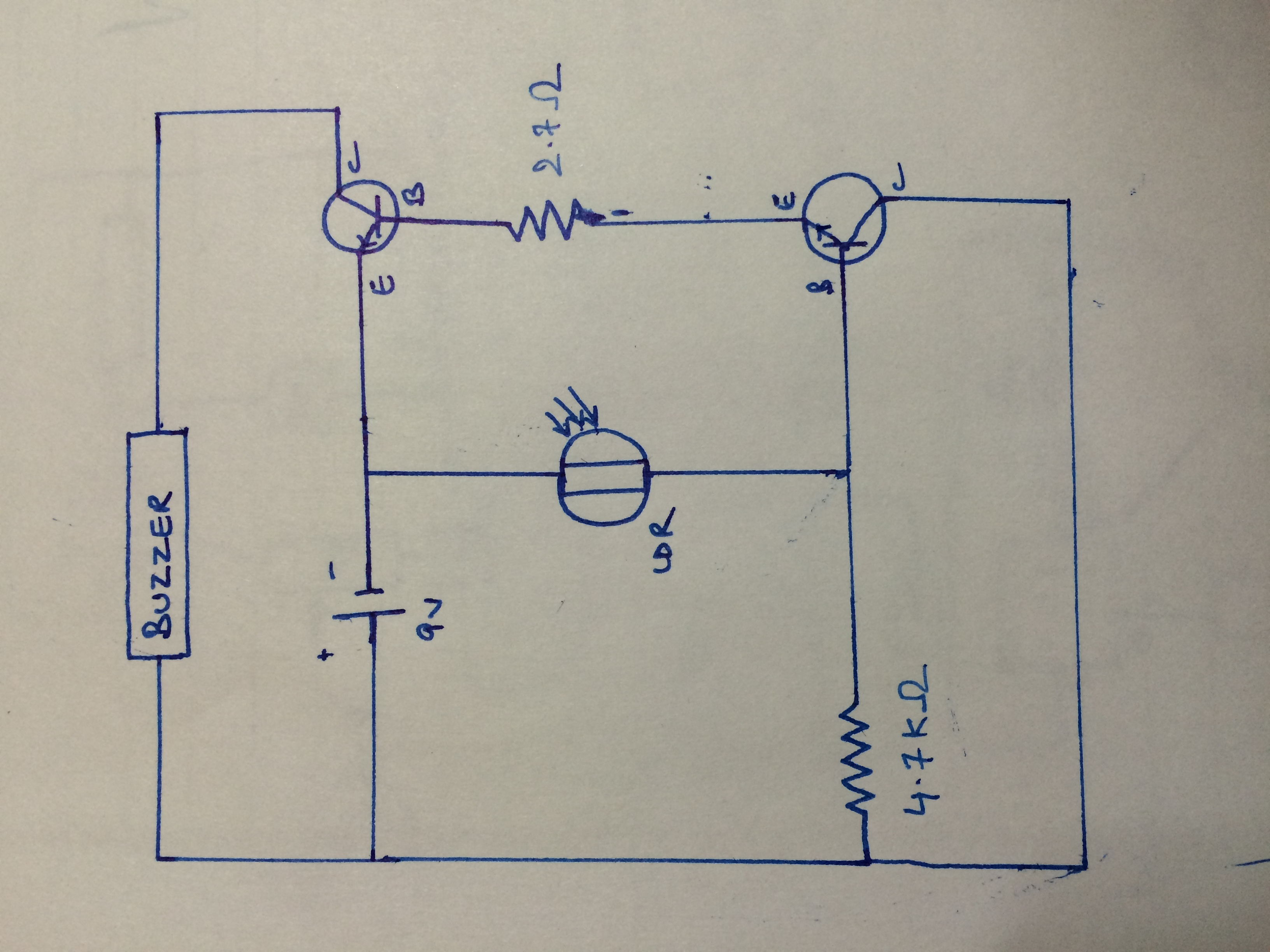 Circuit Diagram Of Ldr
