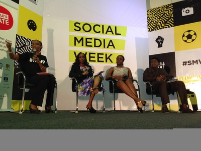 The Citizens, Government & Technology panel hosted by EiE Nigeria