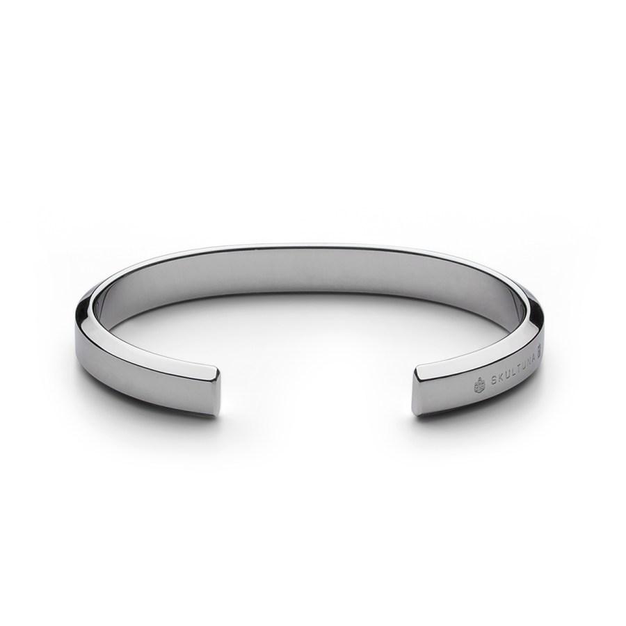Icon Cuff armband, stål