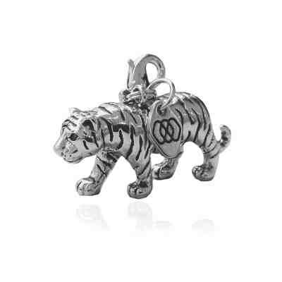 Berlock Tiger, silver