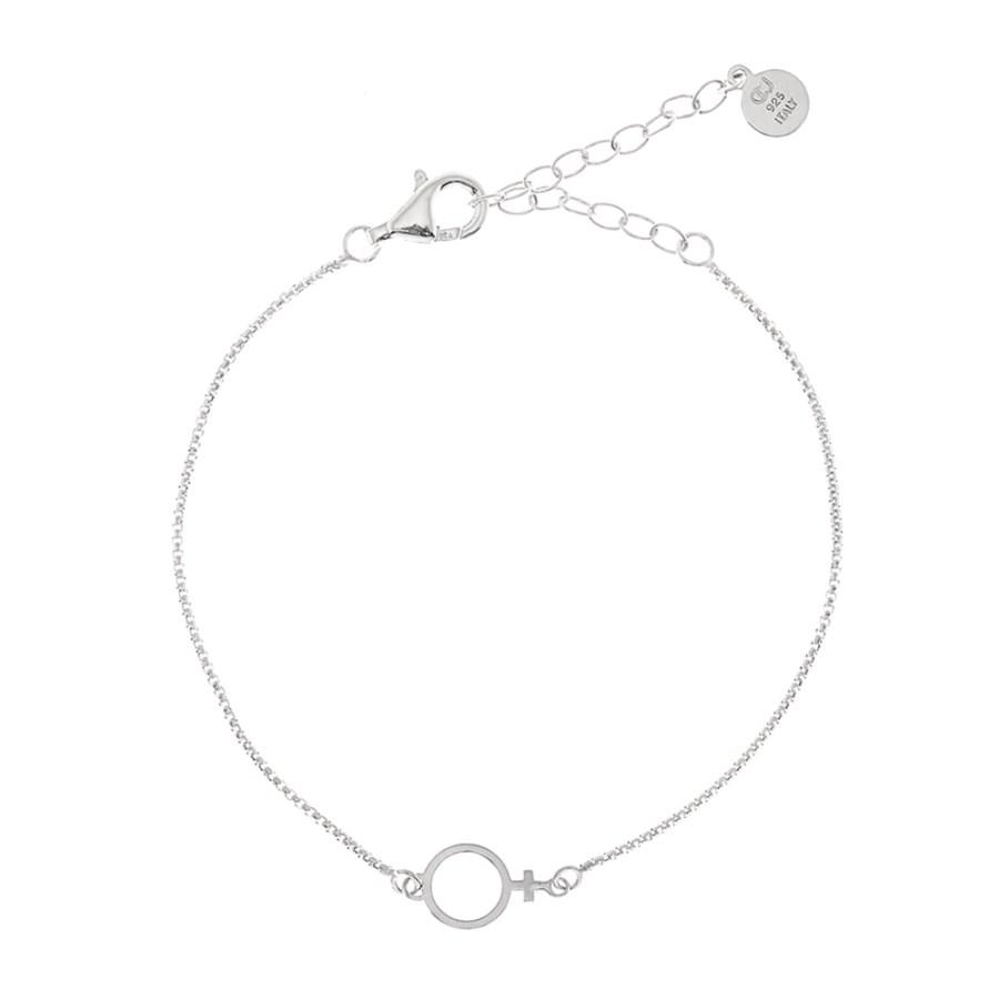Venus Chain armband, silver