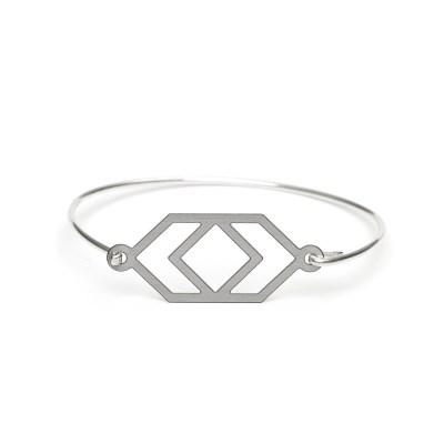 Small Reflection Halsband, stål