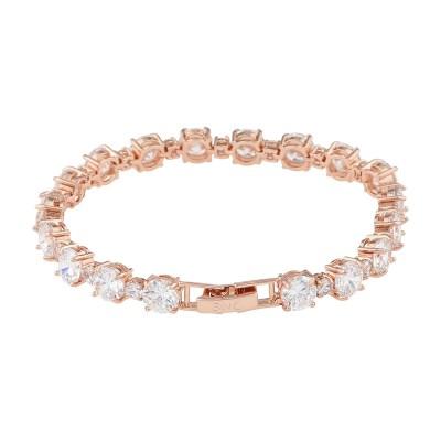 Kairo Armband, Silver/kristall