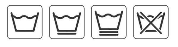 Символы для одежды из хлопка и синтетики