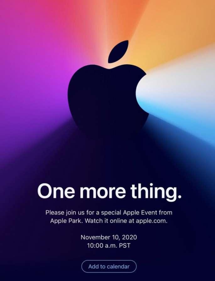 что Apple покажет 10 ноября - какие новые технологии