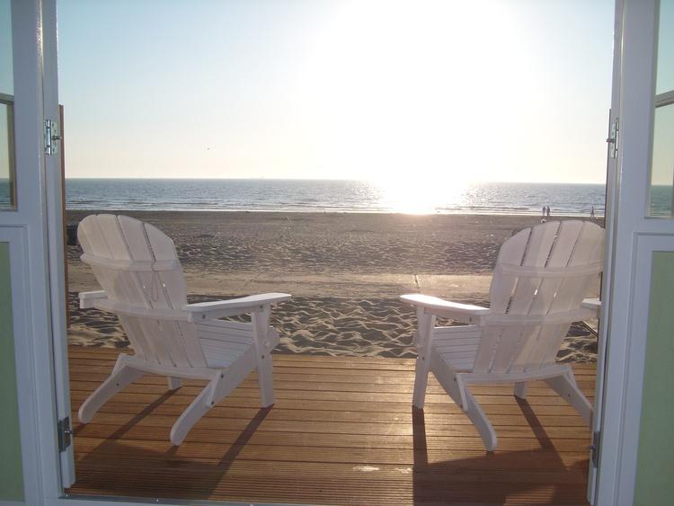 Chalet Zandvoort Noordholland Strandhaus direkt am Strand Mit WifiTVDusche Ferienwohnung
