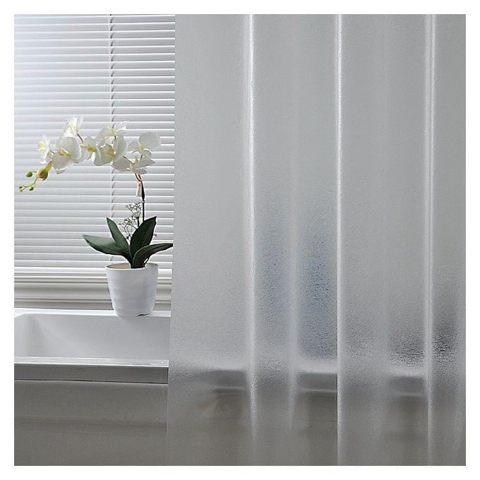 rideau de douche en plastique nordique rideau de douche peva impermeable rideaux de bain translucide epaissi rideau en plastique givre de