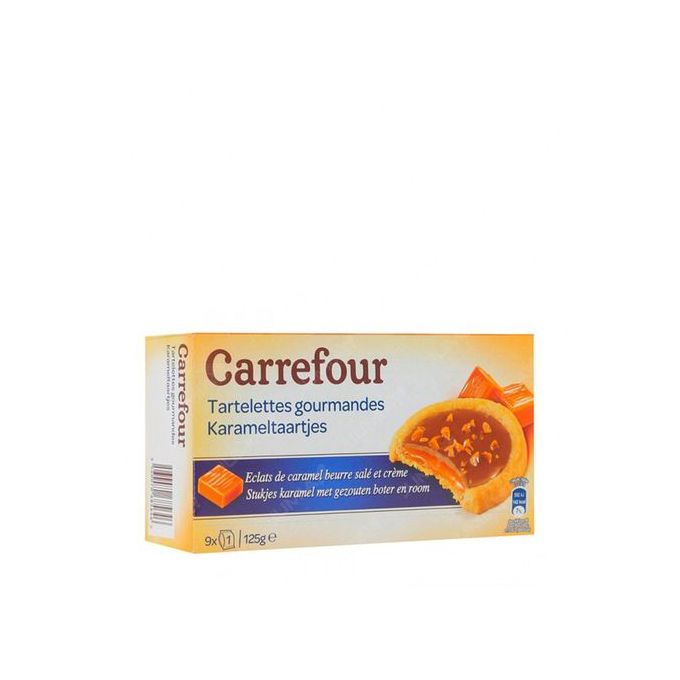 biscuits tartelettes caramel beurre 125g