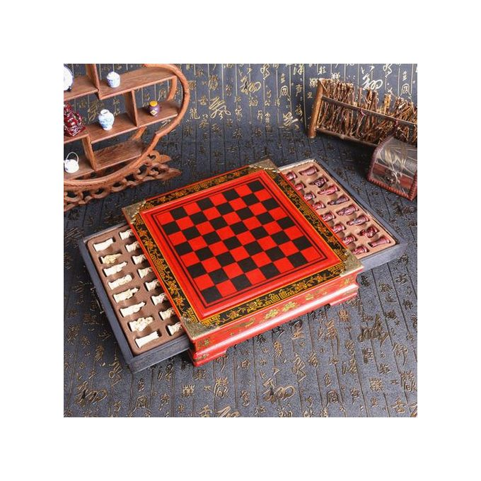 Generic Uk Large Antique Chinese Terra Cotta Warriors Chess Set Chess Board Chess Gifts Prix Pas Cher Jumia Sn