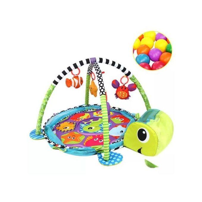 tapis d eveil pour bebe avec ballon mutlicolore