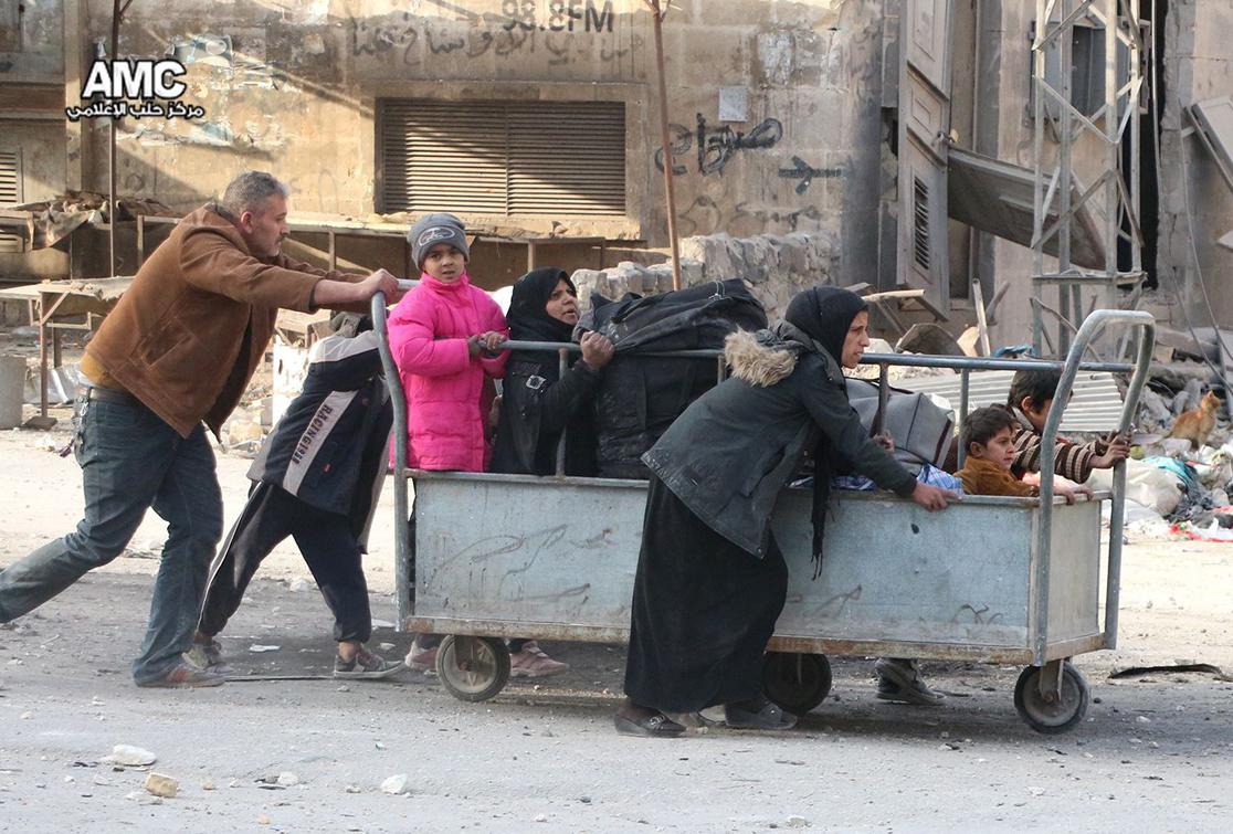 Aleppo's Eastern Neighborhoods