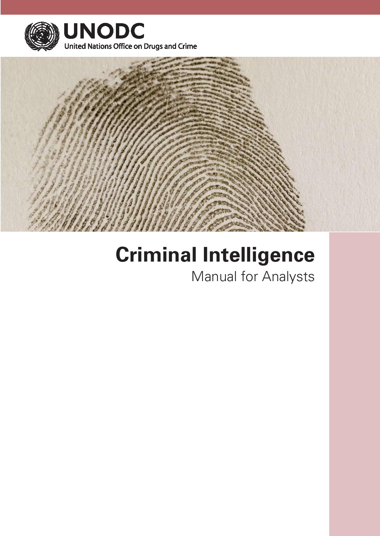 Criminal Intelligence Manual Forysts
