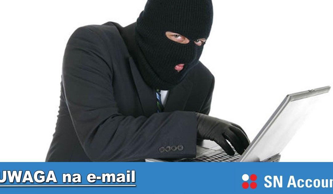 Uwaga na wiadomości e-mail