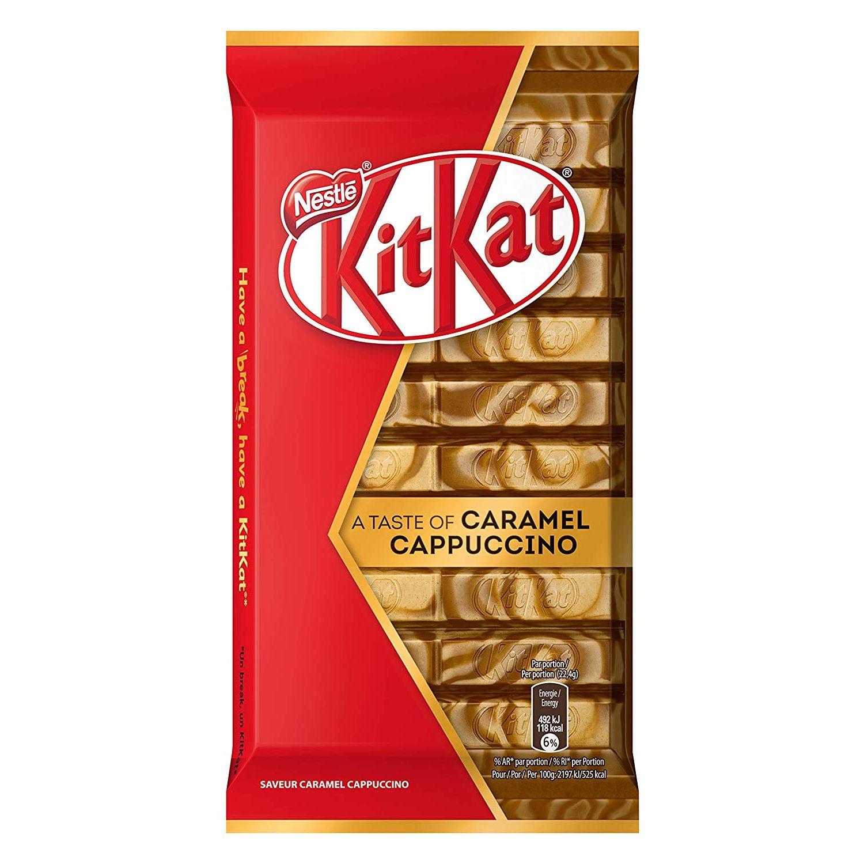 KitKat Caramel Cappuccino 112g • Snackje