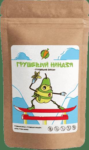 Грушевые чипсы Грушевый ниндзя - СНЕКИ №1