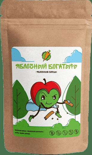 Яблочные чипсы Яблочный богатырь - СНЕКИ №1