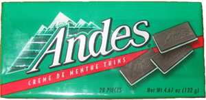 Image result for andes mints candy