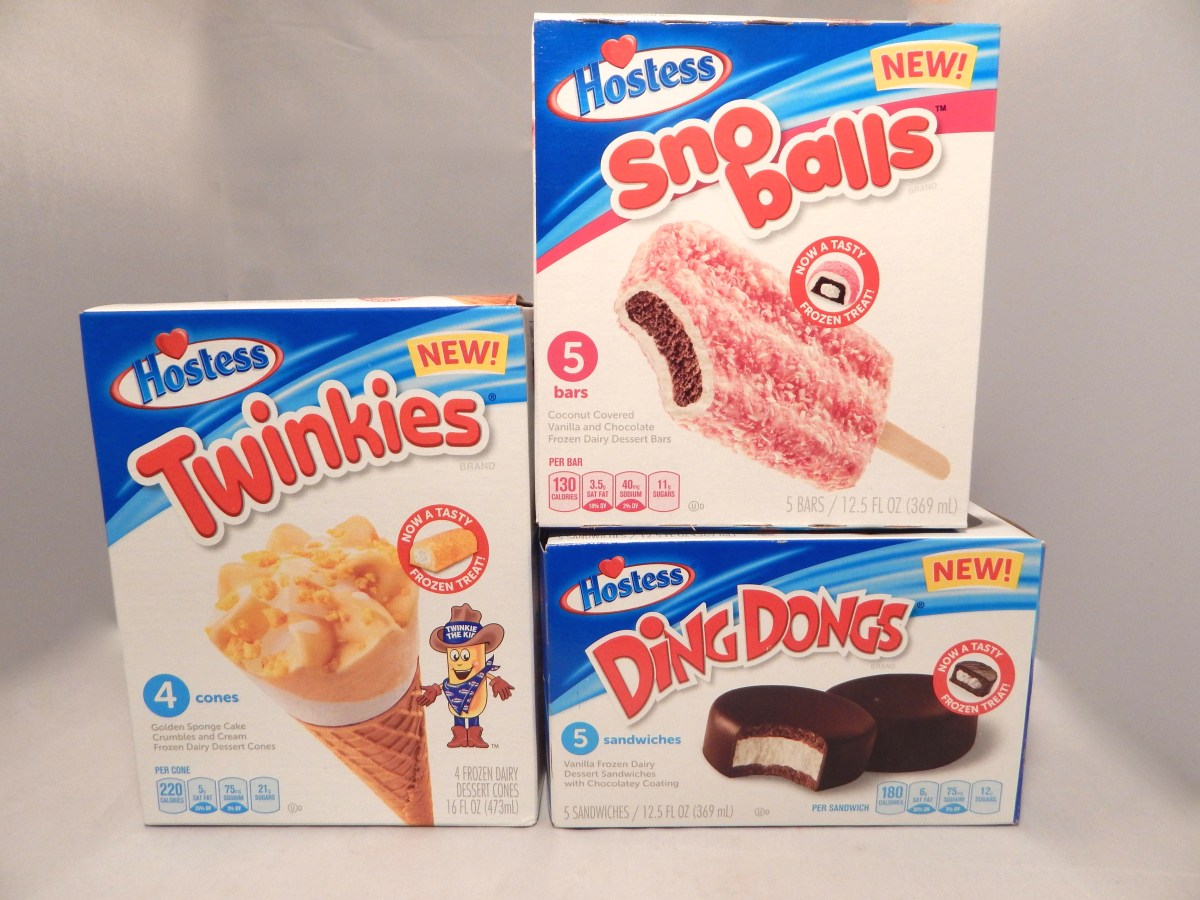 [3-Pack Review] Hostess Frozen Novelties (Twinkies Cones, Sno Balls Bars, and Ding Dongs Sandwiches)