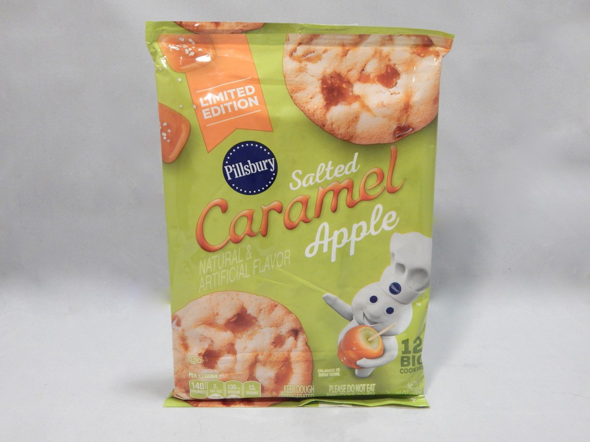 [Review] Pillsbury Limited Edition Salted Caramel Apple Cookies