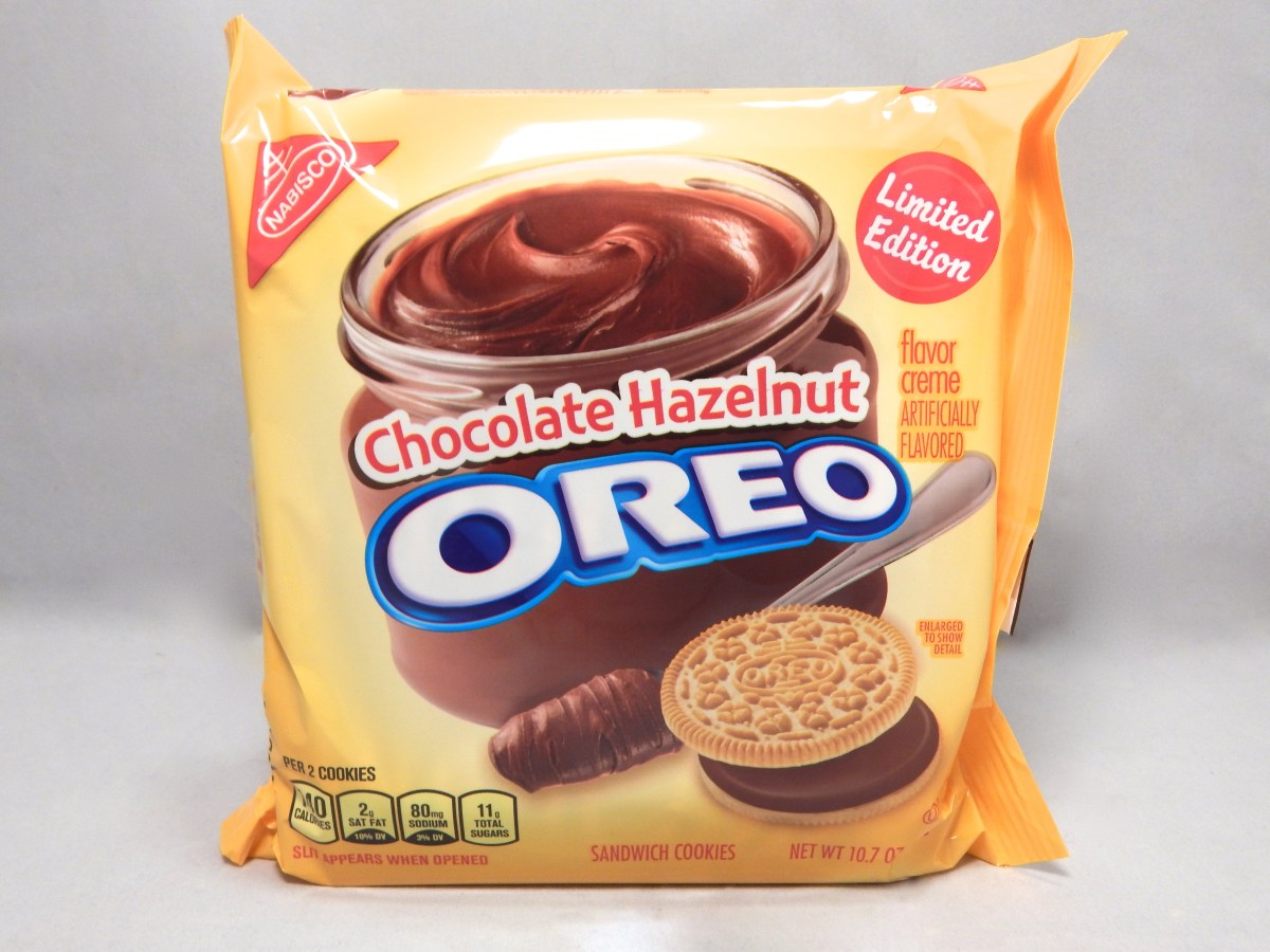 [Review] Nabisco Limited Edition Chocolate Hazelnut Oreos