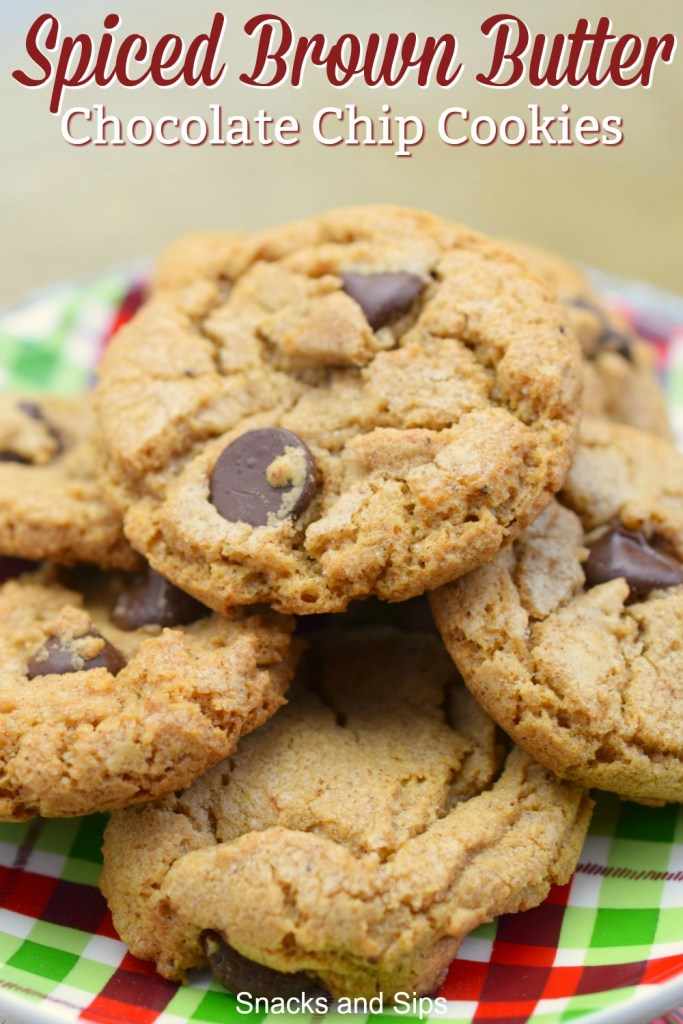 stack of cookies on festive plate