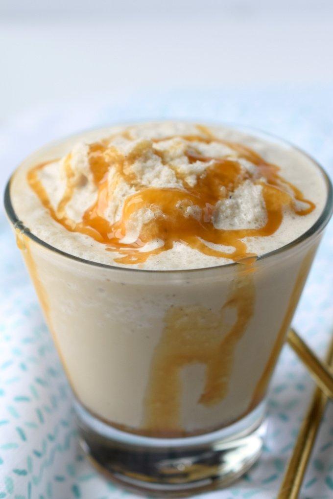 Caramel Frappuccino {Starbucks Copycat}