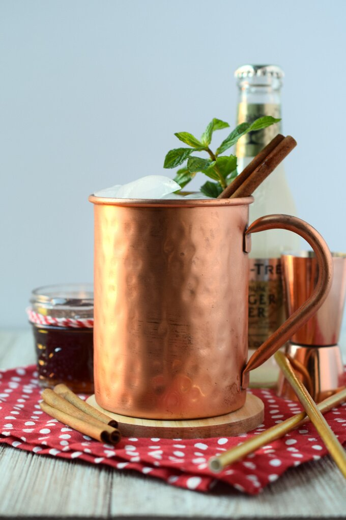 Gingerbread Moscow Mule