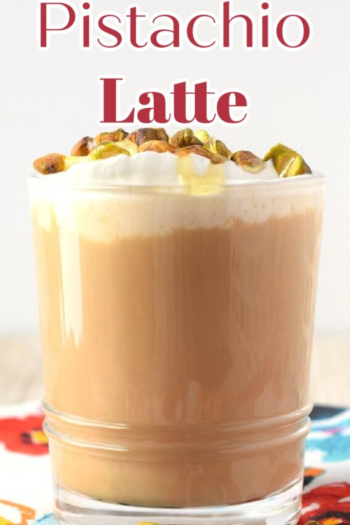 Pistachio Latte