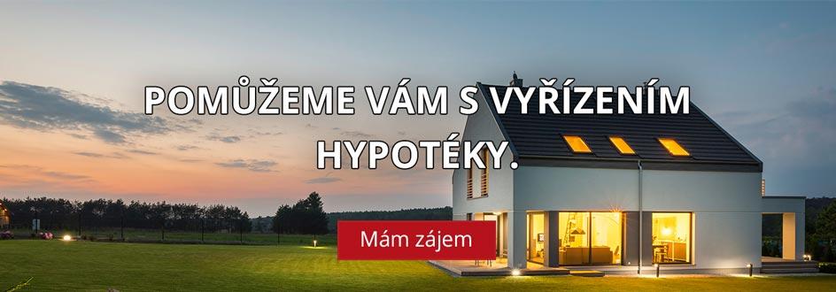 Pomůžeme Vám s vyřízením hypotéky.
