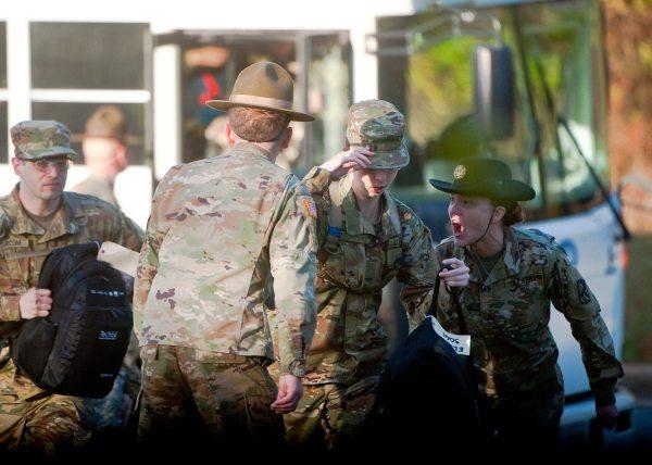 Women Graduate Army' Gender-integrated