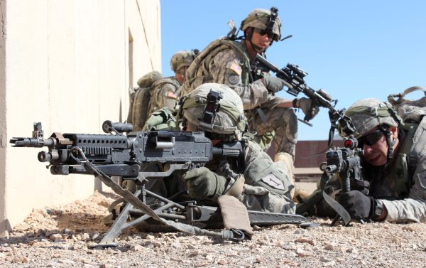 Rifle Bigger Bullets Army' Plan Ditch