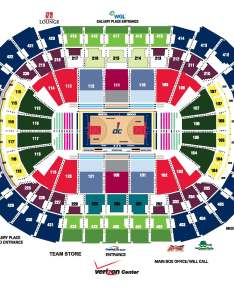 Washington capitals seating chart also capital one arena parking rh capitalonearenaparking
