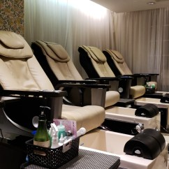 Pink Nail Salon Chairs Mid Century Egg Chair Think Spa 58th St Book Online One Of New York S