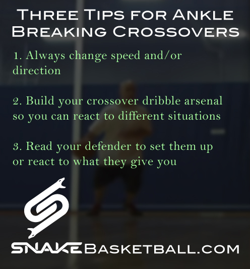 How to Crossover Dribble Tips