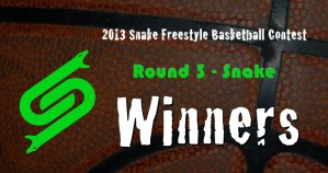 2013 Snake Contest Round 3 Winners