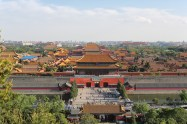 Viewed from Jingshan Park with our friend Vincenzo