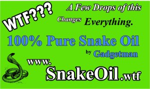 Link to new Snake Oil Additive
