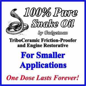 Snake Oil for Smaller Applications