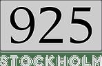 925 STOCKHOLM