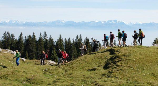 Randonnée dans le Jura
