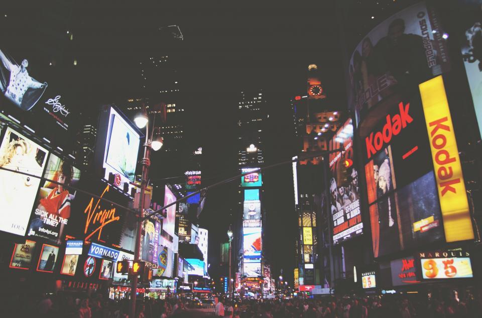 Times Square by: Wojtek Witkowski