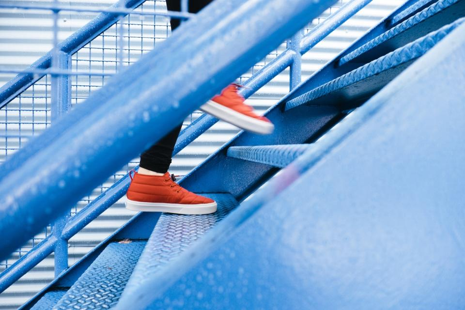 stairs, staircase, shoes, lifestyle, walking