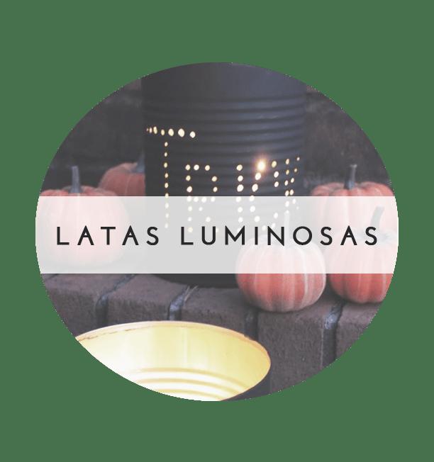 Latas luminosas DIY