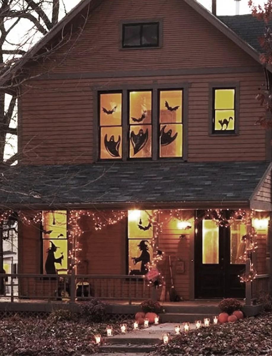 siluetas halloween diy