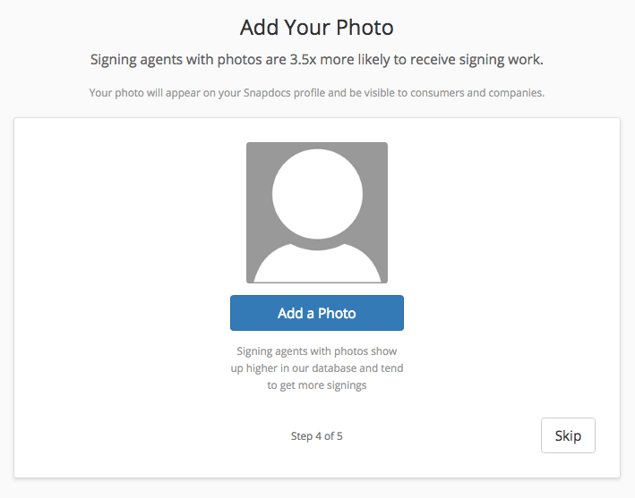 How to create your free Snapdocs notary signing agent