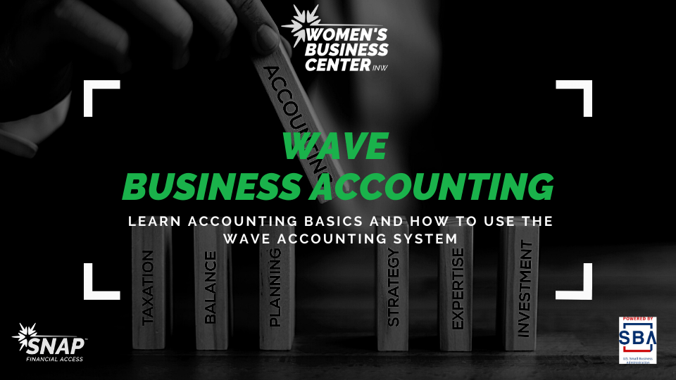 Women's Business Center Wave Business Accounting Class