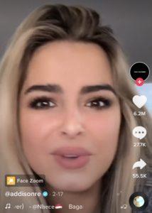 Face Zoom Tik Tok : Filter, TikTok